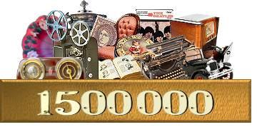 1500000 lotes en el catálogo de antigüedades y coleccionismo