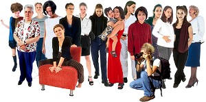 Mujer y comercio electrónico en TodoColección