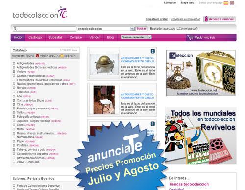 promocion anuncios en anunciaTe en julio y agosto 2010