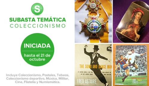 Subasta Temática Coleccionismo 2015