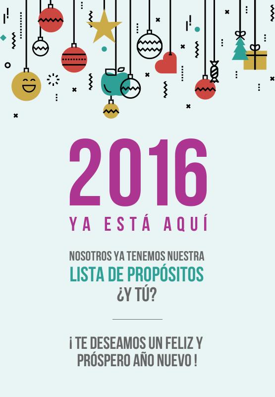 2016 propositos