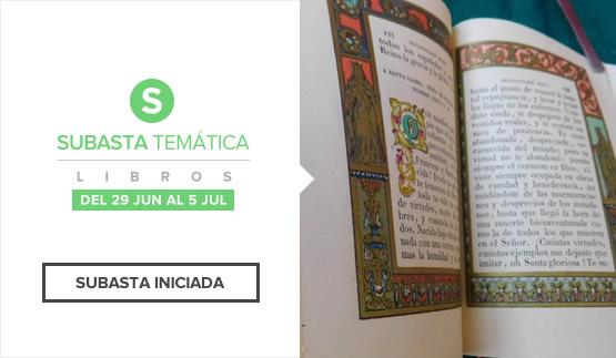 Subasta Temática Libros 2016